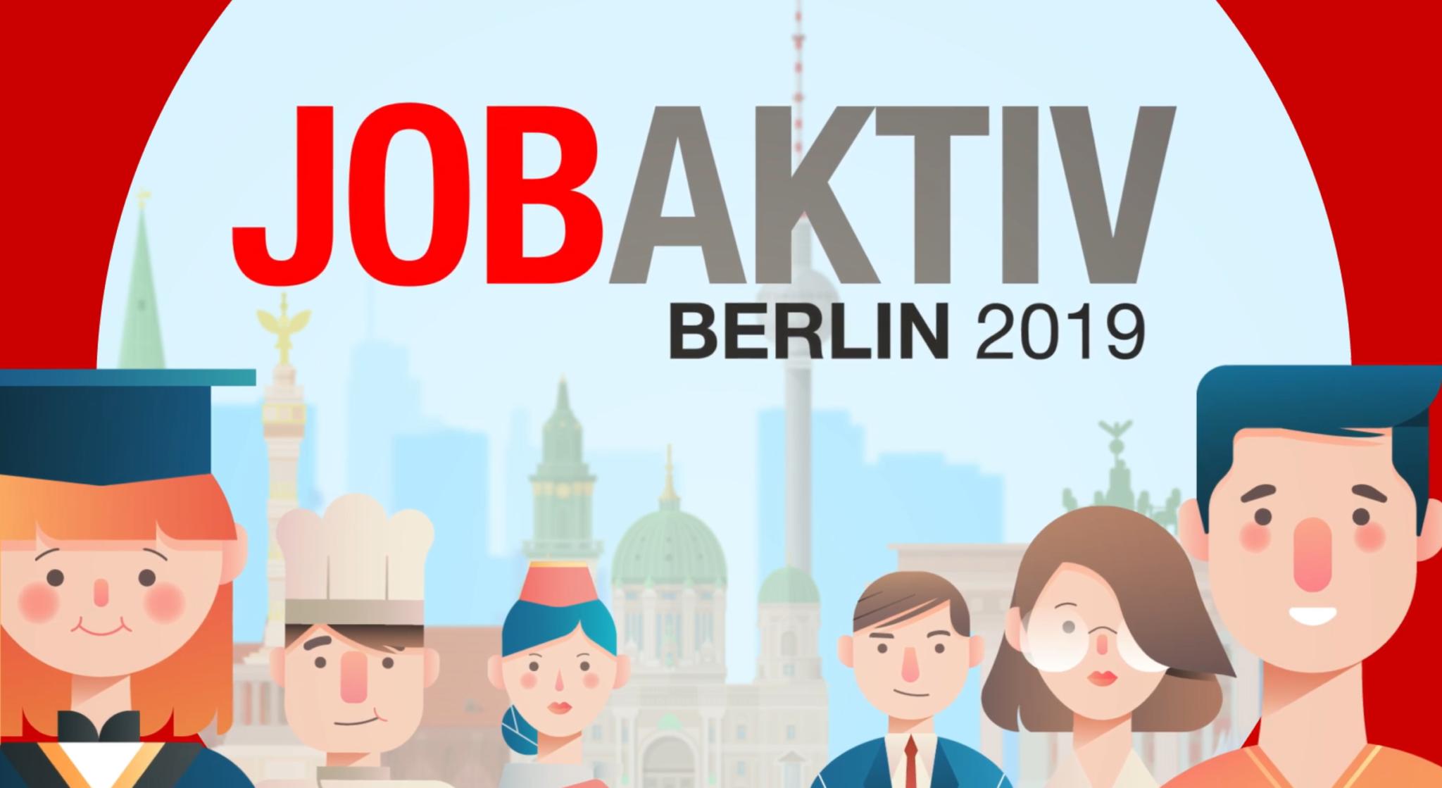 job aktiv messe berlin ar city media werbeagentur