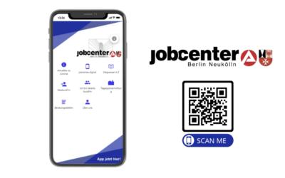 Das Jobcenter Neukölln geht App: Wir konzipieren die Einführungskampagne